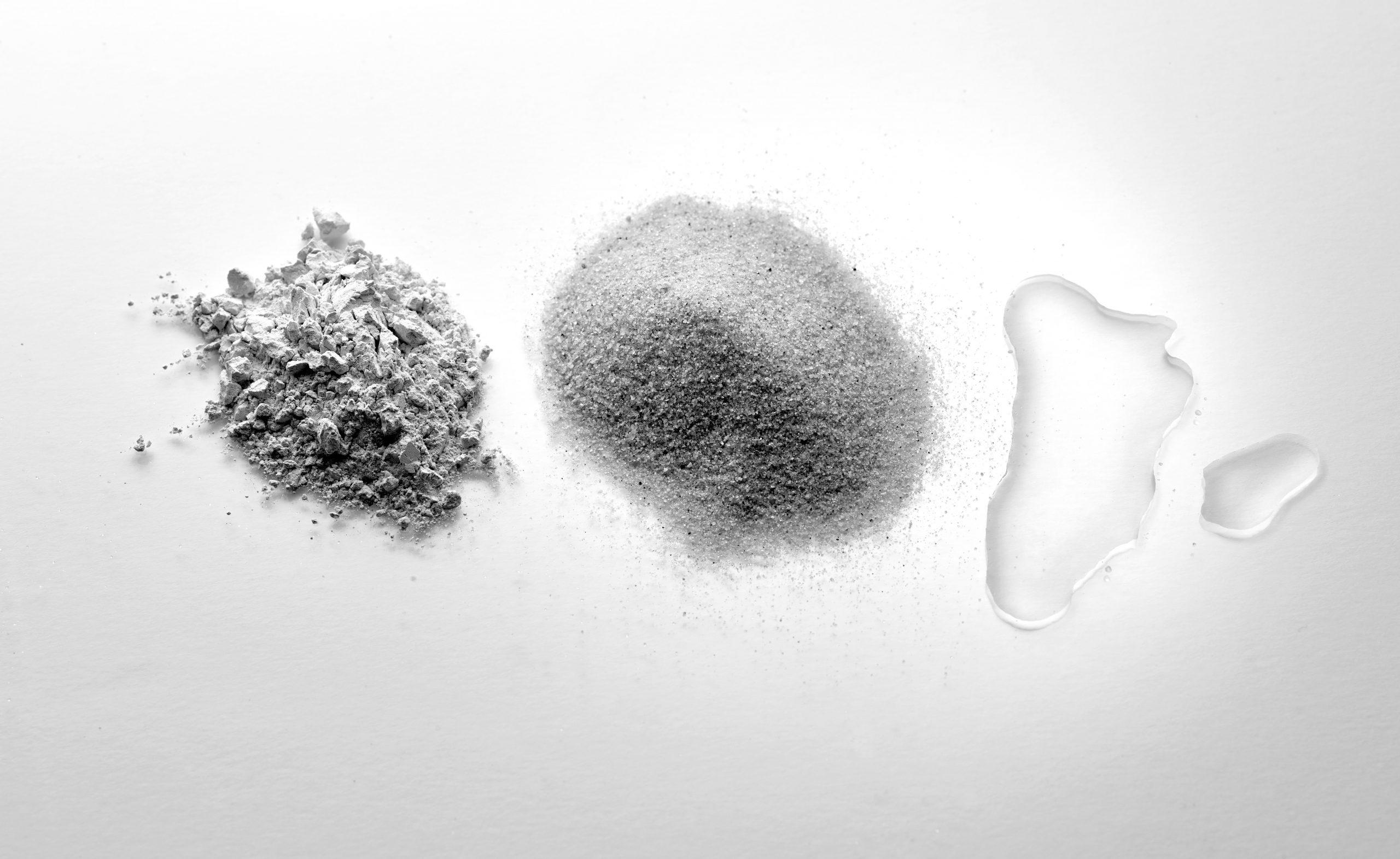 Kalk Sand Wasser